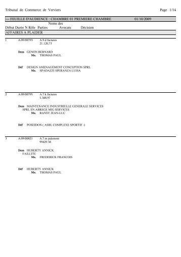 Greffe - Greffe du tribunal de commerce de bobigny ...