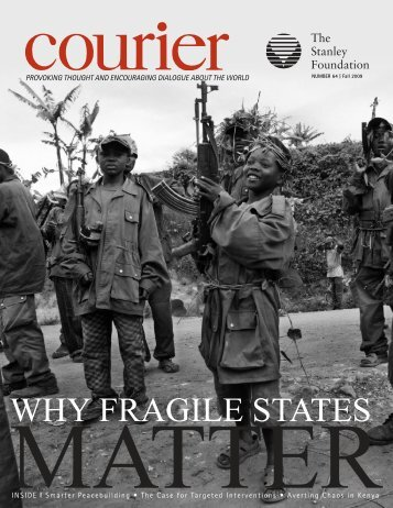 Download Fall Issue - The Stanley Foundation