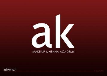 view USA brochure - Ash Kumar Beauty Academy