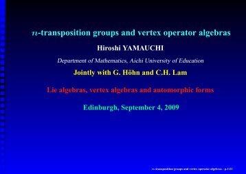 PDF of Presentation - ICMS