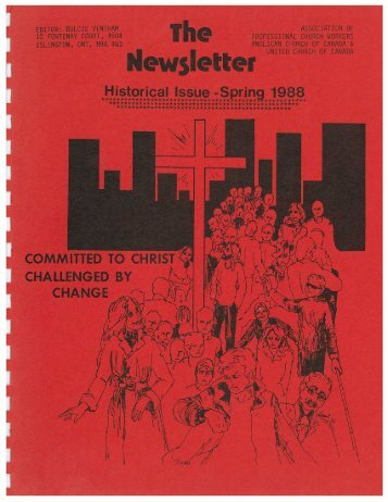 1988 The Newsletter Historical Issue Association of Professional ...