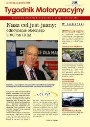 Tygodnik Motoryzacyjny - Polska Izba Motoryzacji