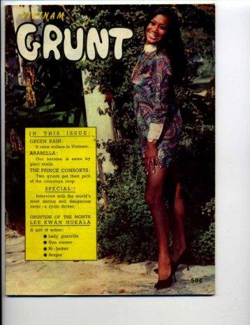 Grunt Volume 1 No. 6 - Craig Sams