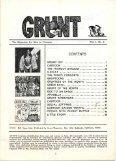 Grunt Volume 1 No. 6 - Craig Sams - Page 5