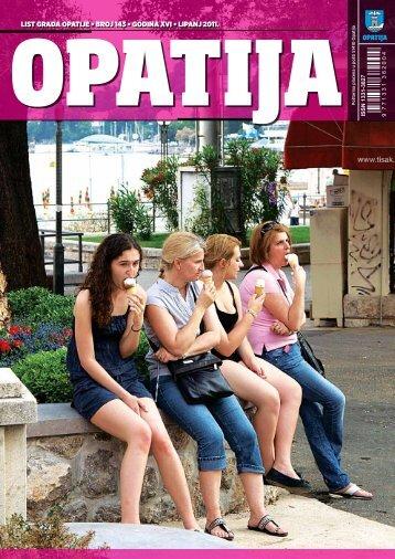 LIST GRADA OPATIJE • BROJ 143 • GODINA XVI ... - Opatija.net