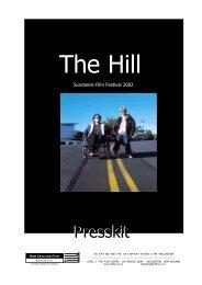 The Hill Press Kit.pdf - New Zealand Film Commission