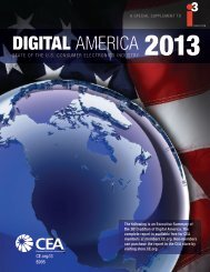 DIGITAL AMERICA 2013 - Consumer Electronics Association