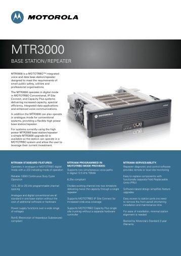 MTR3000 - SAIT Zenitel