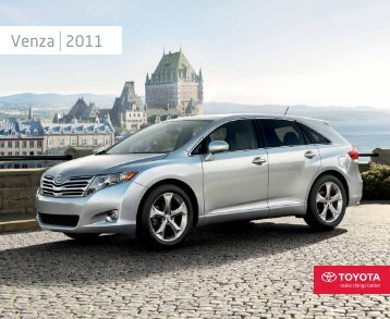 Venza 2011 - Toyota Canada