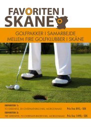 Golfpakke fra 975 SEK. KLIK HER - Golfsverige.dk