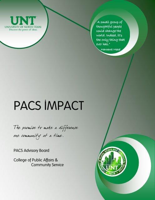 Advisory Board Handbook - College of Public Affairs & Community ...