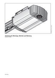 SupraMatic 2 mit externem Empfaenger - Hörmann KG