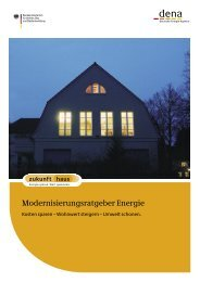 Modernisierungsratgeber Energie - e+haus