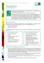 Photovoltaik 2013 - Kommunalkredit Public Consulting