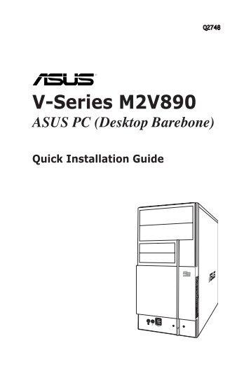 v series m2nc61s asus pc desktop barebone installation manual rh yumpu com Barebone Laptop Kits Barebone Computer Kit