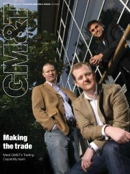 GM&T Magazine Issue 2 - Gazprom Marketing & Trading