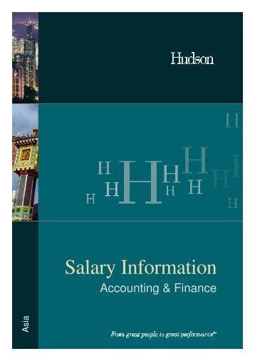 Salary Information - CTHR.hk