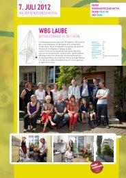 Die WBG stellen sich vor (pdf) - AG Wohnen