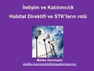 Habitat-Iletisim - REC Türkiye