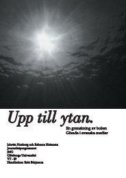 En granskning av boken Gömda i svenska medier - Göteborgs ...