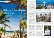 Bahia im Nordosten Brasiliens - Golf Travel Consulting, Inc.