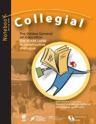 2Collegial Notebook • Spring 2006 - Fédération des enseignantes et ...