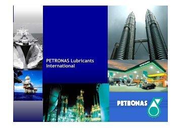 Petronas Lubrificantes Brasil - imex chile