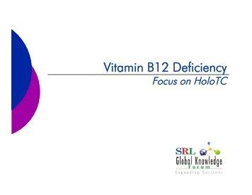 Vitamin B12 Deficiency - Srl