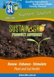 Nutrient Solutions - Sustainable Liquid Technology