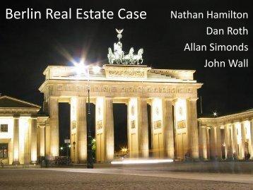 Berlin Real Estate Case Nathan Hamilton - FIABCI-USA