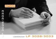 LP 3028/3033 - Utax