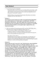 Maaß, Reinhard - LISA - Frauenarbeitsgemeinschaft