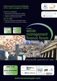 Waste bro (6pp) 08 - Euromoney Institutional Investor PLC