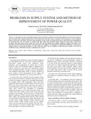 problems in supply system and method of improvement of power ...