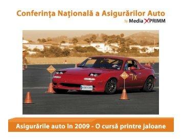 Asigurarile auto in 2009 - O cursa printre jaloane - Media XPRIMM