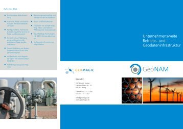 GeoNAM Auskunft - Geomagic GmbH