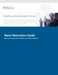 Marin Relocation Guide - Antevia