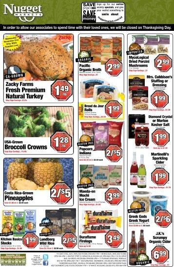 2/$6 2/$5 - Nugget Market