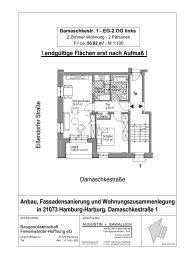 Anbau, Fassadensanierung und Wohnungszusammenlegung in ...