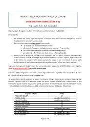 Risultati (pdf, it, 560 KB, 1/10/13)