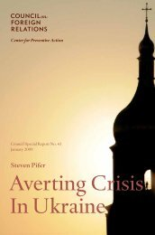 Averting Crisis In Ukraine - Council on Foreign Relations
