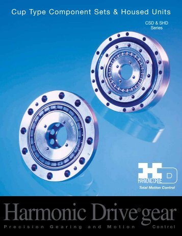 CSD & SHD Catalog PDF - Harmonic Drive LLC