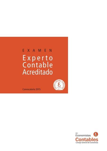 Examen Experto Contable