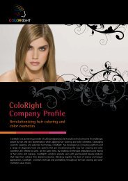 ColoRight Company Profile Revolutionizing hair coloring and color ...