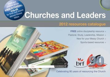 Churches and Leaders - Bible Reading Fellowship