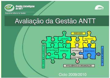 Avaliação da Gestão ANTT - versão final 20/08/2010 - GesANTT