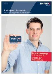 Schulungspass Schweiz - Inneo