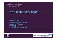 Download presentation (PDF) - The Royal Marsden