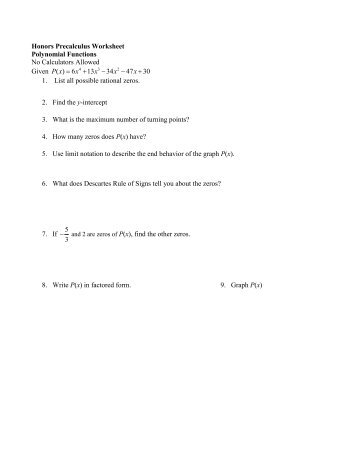 242 honors calculus worksheet 3 4. Black Bedroom Furniture Sets. Home Design Ideas