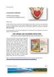 14. Newsletter Juni 2013 - christiane-zen.de